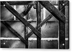 Old Rafters Acrylic Print