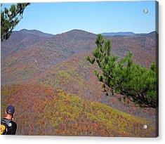 Old Rag Hiking Trail - 121222 Acrylic Print