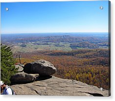 Old Rag Hiking Trail - 121227 Acrylic Print by DC Photographer