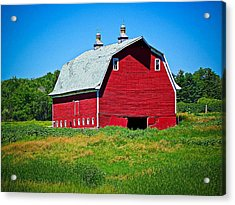 Old Red Barn Acrylic Print