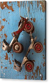 Old Roller Skates Acrylic Print