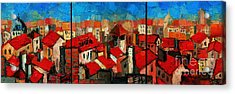 Old Roofs Of Lyon Acrylic Print