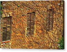 Old Roswell Manufacturing Mill Acrylic Print