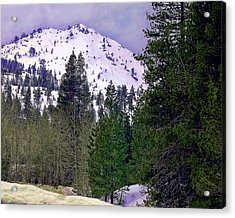 Old Route 40 Winter Acrylic Print