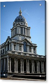 Old Royal Naval College Acrylic Print by Heather Applegate