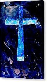 Old Rugged Cross II Acrylic Print