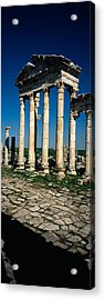Old Ruins Of A Built Structure Acrylic Print by Panoramic Images