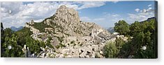 Old Ruins Of An Amphitheater Acrylic Print by Panoramic Images