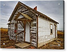Old Rustic Rural Country Farm House Acrylic Print