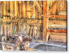 Old Rustic Workshop Acrylic Print