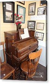 Old Sacramento California Schoolhouse Piano 5d25783 Acrylic Print by Wingsdomain Art and Photography