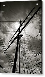 Old Sailing Ship Acrylic Print