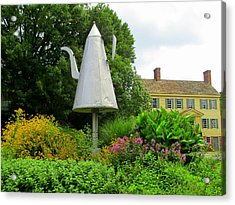 Old Salem Giant Coffee Pot Acrylic Print