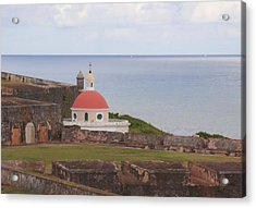 Acrylic Print featuring the photograph Old San Juan by Daniel Sheldon