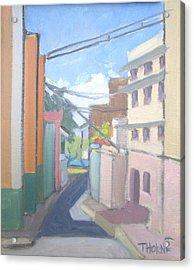 Old San Juan Acrylic Print by Marcus Thorne