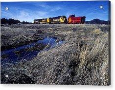 Old Sante Fe Waits In Williams Arizona Acrylic Print