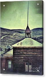 Old Schoolhouse Acrylic Print by Jill Battaglia