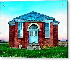 Old Schoolhouse Acrylic Print