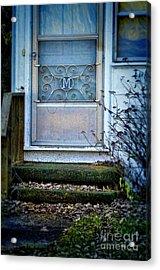 Old Screen Door Acrylic Print by Jill Battaglia