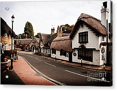 Old Shanklin Isle Of Wight  Acrylic Print