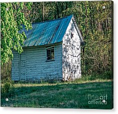 Old Shed Acrylic Print by Timothy Clinch