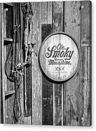 Ole Smoky Moonshine Acrylic Print by Dan Sproul