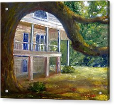 Old Southern Louisiana Mansion Plantation Acrylic Print