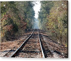 Old Southern Tracks Acrylic Print