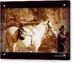 Old Spain Acrylic Print by Clare Bevan