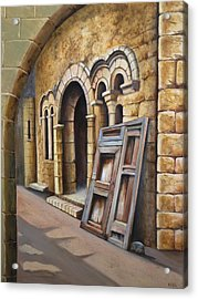 Old Spanish Monastery Acrylic Print by Rich Kuhn
