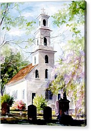 Old St. David's Church Acrylic Print