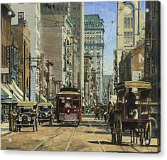 Old St. Louis 11th And Olive Acrylic Print