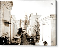 Old St. Louis Cemetery, New Orleans, La, Cemeteries Acrylic Print by Litz Collection