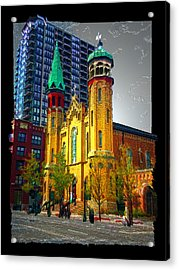 Old St Pats Acrylic Print