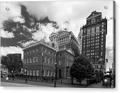 Old State House 15568b Acrylic Print by Guy Whiteley