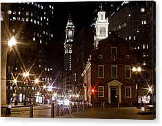 Old State House In Boston Acrylic Print