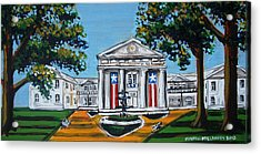 Old State House Acrylic Print by Mitchell McClenney