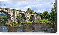 Old Stirling Bridge - Scotland Acrylic Print