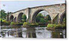 Old Stirling Bridge Scotland Acrylic Print by Jane McIlroy