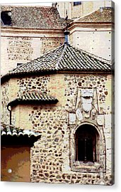 Acrylic Print featuring the photograph Old Stone Building by Mary Bedy