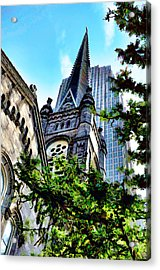 Old Stone Church - Cleveland Ohio - 1 Acrylic Print