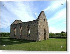 Old Stone Church 2 Acrylic Print