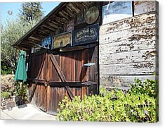 Old Storage Shed At The Swiss Hotel Sonoma California 5d24459 Acrylic Print by Wingsdomain Art and Photography
