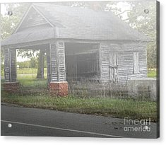 Acrylic Print featuring the digital art Old Store by Melissa Messick