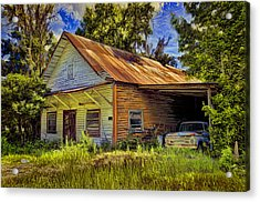 Old Store - Old Ford Acrylic Print by Lewis Mann