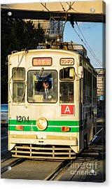 Old Streetcar In Kumamoto - Kyushu - Japan Acrylic Print