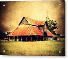 Old Texas Barn Acrylic Print