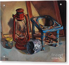 Old Things Acrylic Print by Mohamed Fadul