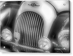 Acrylic Print featuring the photograph Old Time Car 2 by John S
