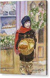 Old Time Christmas Acrylic Print